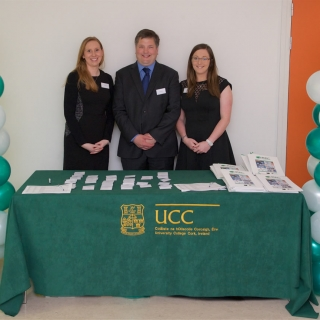 Laura Lynch, Dr Simon Woodworth and Dr Yvonne O'Connor