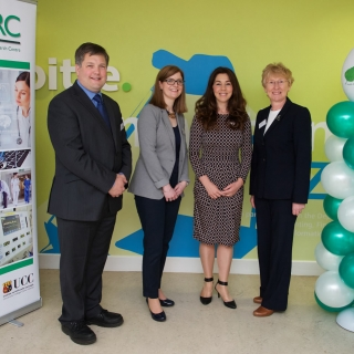HISRC Co-Directors and Patricia Lynch