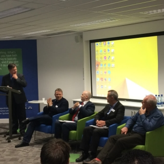 Panel Discussion – Dr Simon Woodworth, Willie Muehlhausen, Dr David Sammon, Prof. George Shorten and Dr Colman Casey